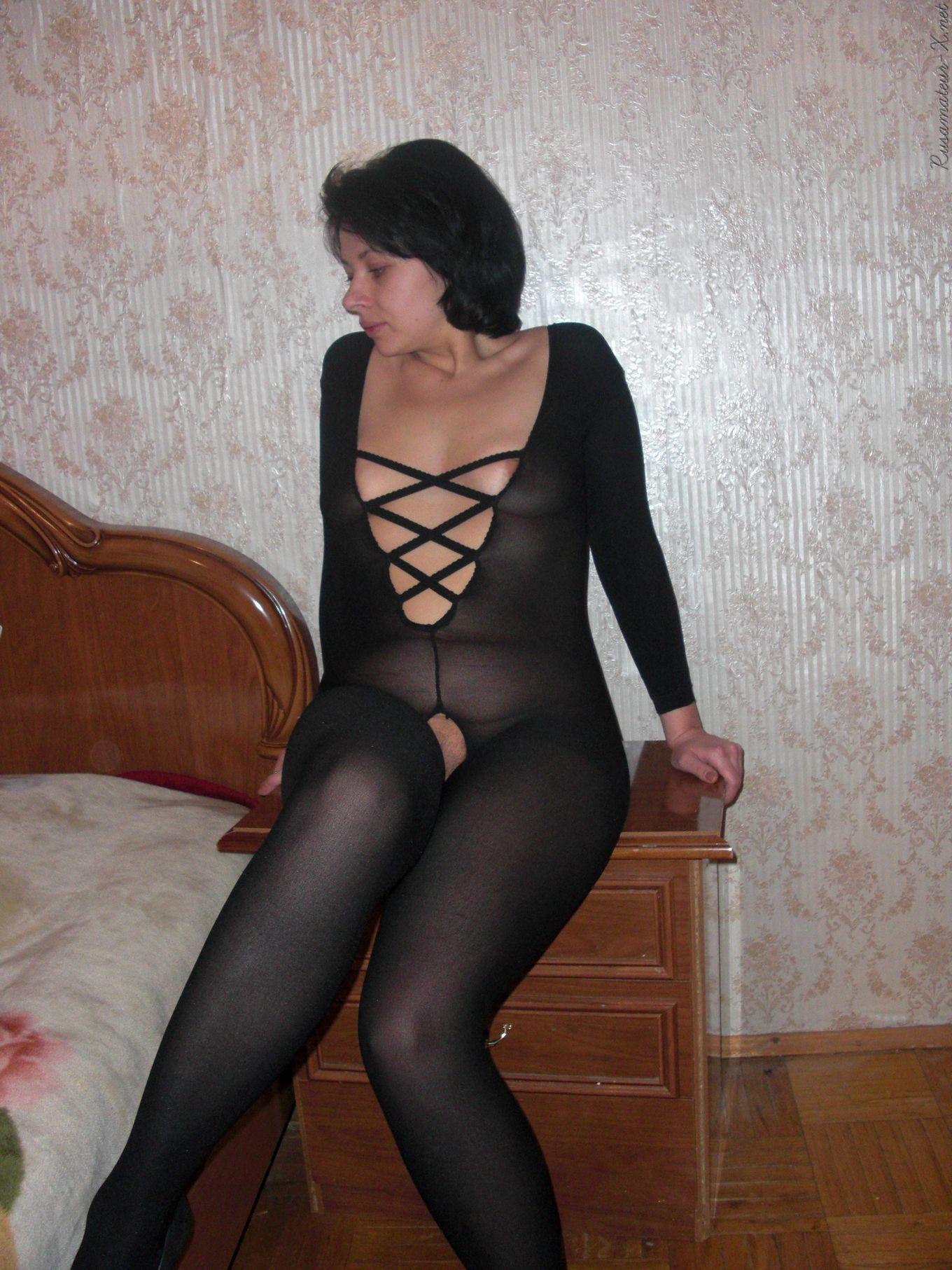 Трах русской тёти Елены, с наколкой на пизде