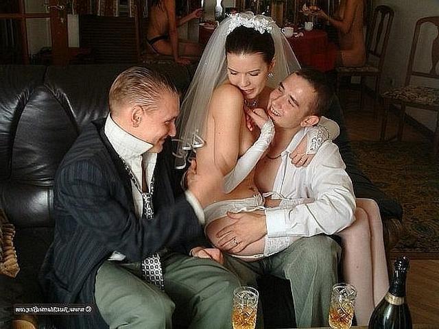 Невесты наконец-то могут снять свадебные платья фото порно