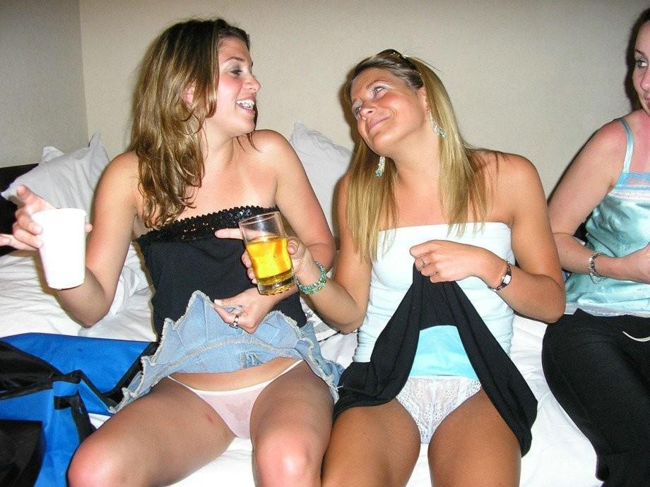 Пьяная молодежь