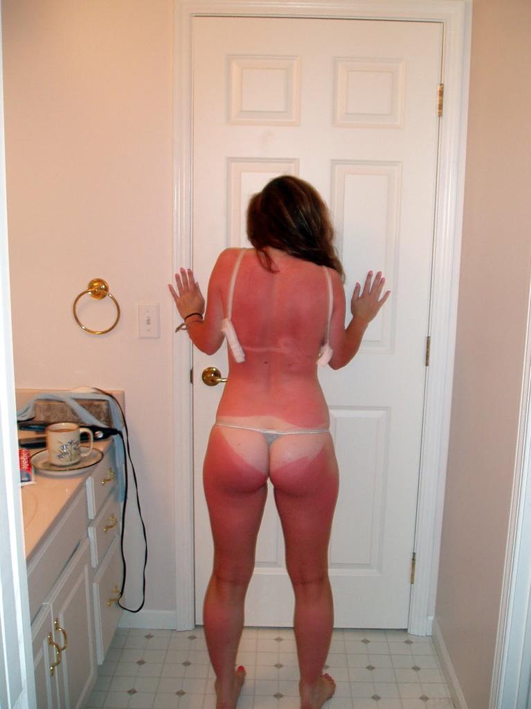 Домашняя подборка нагих задниц девушек